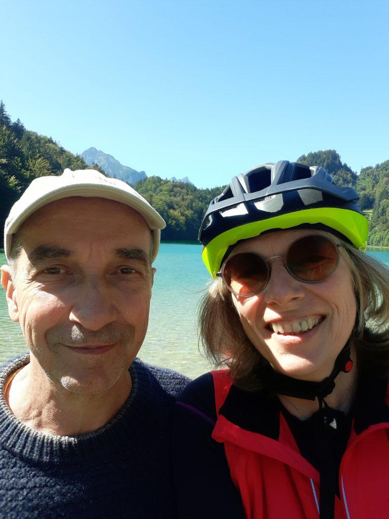 Radtour mit Ingo